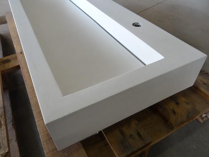 Wastafel Van Beton : Wasbak flevoland betonnen wasbak soliddutch beton