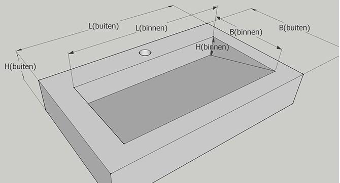Matenschets wasbak Limburg | Betonnen wasbak | SolidDutch Beton