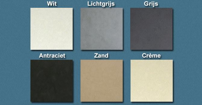 Kleurenpalet betonnen producten | Betonnen wasbak | SolidDutch Beton